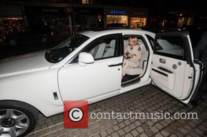 Sienna Miller - 'Inside Rolls-Royce' exhibition - VIP preview held at the Saatchi Gallery - London, United Kingdom - Thursday...