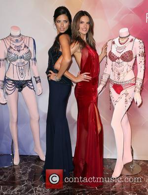 Adriana Lima and Alessandra Ambrosio
