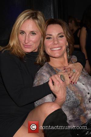 Sonja Morgan and Countess Luann De Lesseps