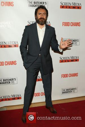 Demian Bichir - Los Angeles Premiere of FOOD CHAINS at Los Angeles Theatre Center - Los Angeles, California, United States...