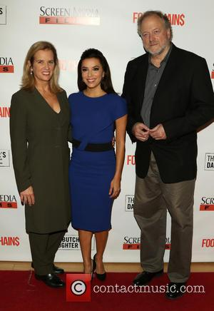 Kerry Kennedy, Eva Longoria and Hamilton Fish