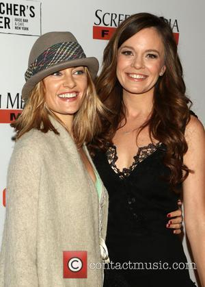 Madchen Amick and Rachel Boston