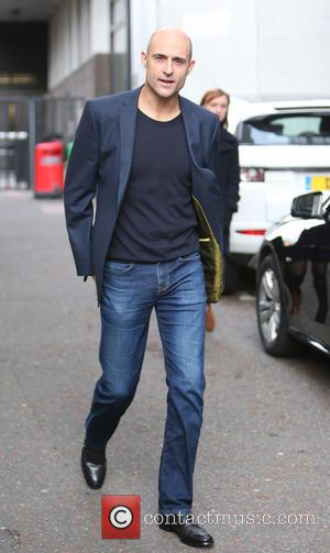 Mark Strong - Mark Strong outside the ITV Studios - London, United Kingdom - Thursday 13th November 2014