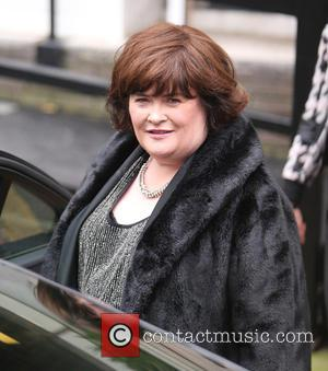 Susan Boyle - Susan Boyle outside the ITV Studios - London, United Kingdom - Thursday 13th November 2014