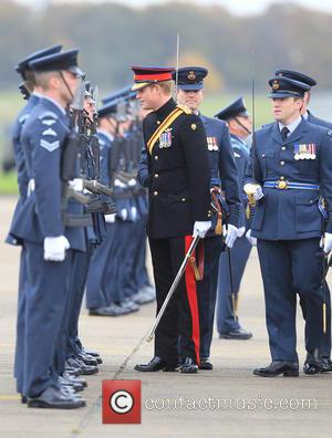 Prince Harry, Honorary Air Commandant and Raf Honington
