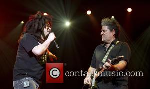 Adam Duritz, David Immerglück and Counting Crows