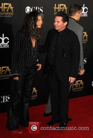 Steven Tyler and Andy Gelb - 2014 Hollywood Film Awards - Arrivals at The Palladium, Hollywood Film Awards - Hollywood,...