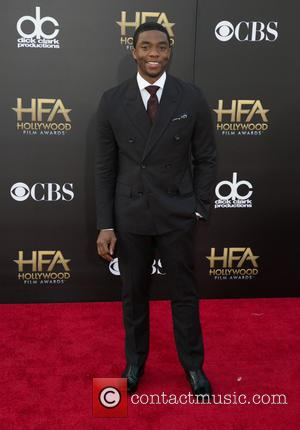 Chadwick Boseman - 18th Annual Hollywood Film Awards at the Hollywood Palladium - Arrivals at The Palladium, Hollywood Film Awards...