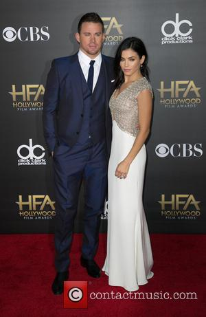 Channing Tatum and Jenna Dewan Tatum - 2014 Hollywood Film Awards at The Palladium - Arrivals at The Palladium, Hollywood...