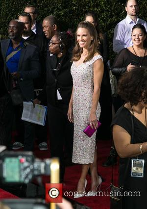 Hilary Swank - 2014 Hollywood Film Awards at The Palladium - Arrivals at The Palladium, Hollywood Film Awards - Los...