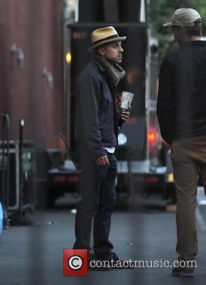 Giovanni Ribisi - Gwen Stefani mans an giant cannon atop a high rise building in downtown LA while filming a...
