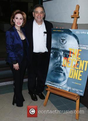 Kat Kramer and Michael Berenbaum - Shots from a Screening of documentary by Israeli film maker Vanessa Lapa 'The Decent...