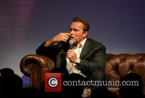 Arnold Schwarzenegger - Jonathan Ross hosts an evening with Arnold Schwarzenegger at The Pavillion, Elland Road - Leeds, United Kingdom...