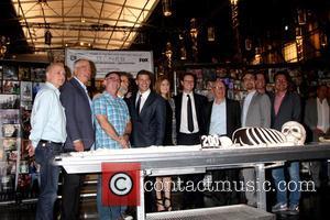 David Boreanaz, Emily Deschanel, Fox Executives, Bones Executives and Rupert Murdoch - The cast and crew of FOX's hit show...