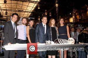 David Boreanaz, TJ Thyne, Tamara Taylor, John Boyd, Emily Deschanel and Michaela Conlin
