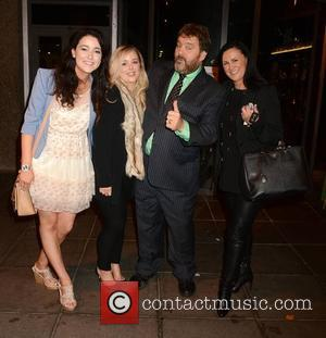 Katie Quirke, Leanne Kennedy, Brendan Grace and Tanya Keane - Celebrities at the RTE studios for 'The Late Late Show...