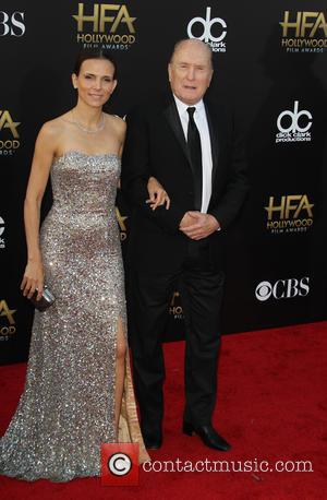 Robert Duvall and Luciana Pedraza - 18th annual Hollywood Film Awards at Hollywood Palladium - Arrivals at The Palladium, Hollywood...
