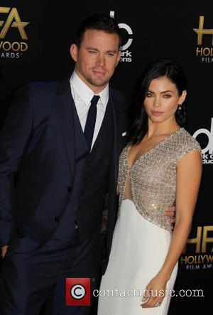 Channing Tatum and Jenna Dewan Tatum - 18th Annual Hollywood Film Awards at The Palladium - Arrivals at The Palladium,...