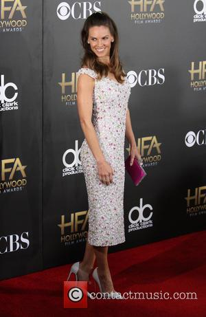 Hilary Swank - The Hollywood Film Awards 2014 at The Palladium, Hollywood Film Awards - Hollywood, California, United States -...
