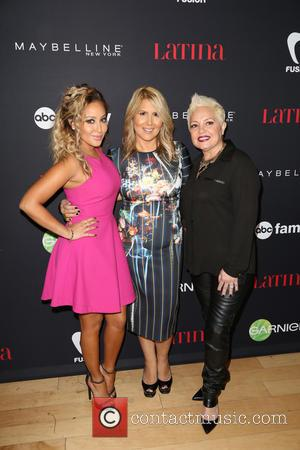 Adrienne Bailon, Ebby Antigua and Nilda Felix - A host of celebs were snapped as they attended LATINA Magazine's