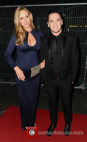 Catherine Tyldesley and Tom Pitfield - 2014 Royal Television Society (RTS) North West Awards at the Hilton Deansgate Manchester Hotel...