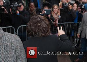 Harry Styles - Band Aid 30 recording held at Sarm Studios in Notting Hill - Arrivals. - London, United Kingdom...