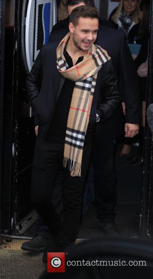 Liam Payne - Celebrities at the Sarm studios to record the Band Aid 30 single 'Do they Know It's Christmas'....