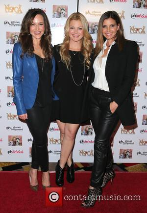Julie Benz, Clare Kramer and Charisma Carpenter - Jennifer Harmon Celebrity Poker Tournament Benefiting Nevada SPCA Inside Planet Hollywood Resort...
