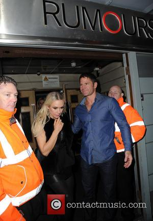 Kristina Rihanoff and Steve Backshall - Celebrities and their dancers depart Rumours Night Club after  the Strictly Come Dancing...