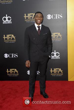 Chadwick Boseman - The Hollywood Film Awards 2014 at Hollywood Film Awards - Los Angeles, California, United States - Saturday...