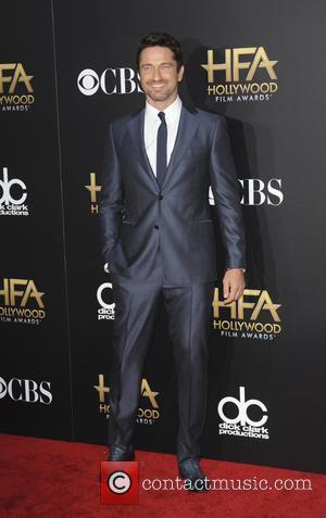 Gerard Butler - The Hollywood Film Awards 2014 at Hollywood Film Awards - Los Angeles, California, United States - Saturday...