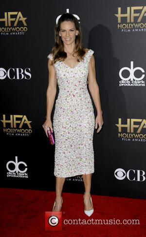 Hilary Swank - The Hollywood Film Awards 2014 at Hollywood Film Awards - Los Angeles, California, United States - Saturday...