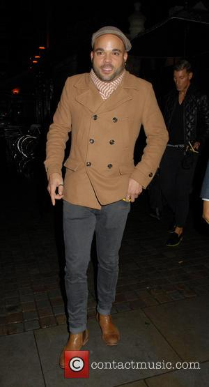 Nate James - Nate James at Chiltern Firehouse in Marylebone - London, United Kingdom - Sunday 16th November 2014