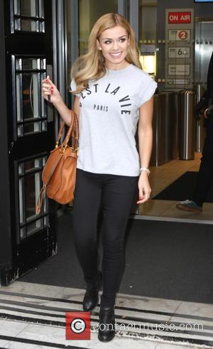 Welsh classical singer Katherine Jenkins was photographed as she left the Radio 2 studios after an appearance on the Terry...