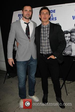 Brett Dalton and Chris Lowell