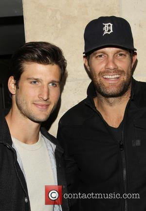 Parker Young and Geoff Stults