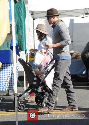 Channing Tatum and Jenna Dewan - Channing Tatum and Jenna Dewan take their daughter, Everly to the Farmers Market -...