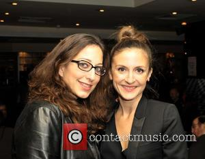 Mona Achache and Camille Chamoux - French Film Festival UK 2014 - Celebrity Sightings at Filmhouse - Edinburgh, United Kingdom...