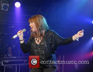 Jane McDonald - Shots of English singer Jane McDonald as she performs live at G-A-Y in the club Heaven in...