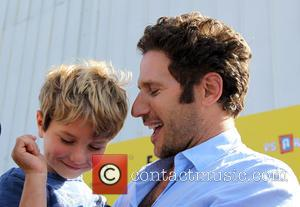 Mark Feuerstein and Frisco Feuerstein - Photographs from the PS Arts Express Yourself Event as a variety of stars arrived...