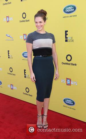 Amanda Righetti - P.S. ARTS Express Yourself Event 2014 held at Barker Hangar - Arrivals - Los Angeles, California, United...