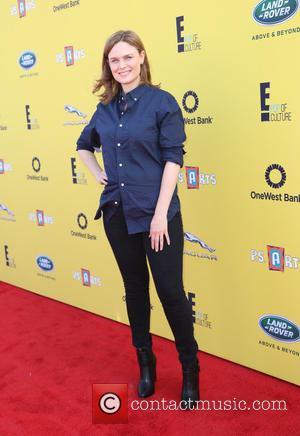 Emily Deschanel - P.S. ARTS Express Yourself Event 2014 held at Barker Hangar - Arrivals - Los Angeles, California, United...
