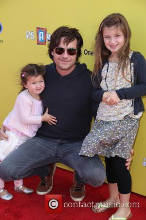 Jason Bateman, Francesca  Bateman and Maple Bateman
