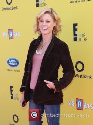 Julie Bowen - P.S. ARTS Express Yourself Event 2014 held at Barker Hangar - Arrivals - Los Angeles, California, United...