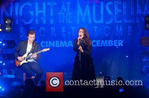 Jessie Ware - Take That switch on the Regent Street Christmas lights. - London, United Kingdom - Sunday 16th November...