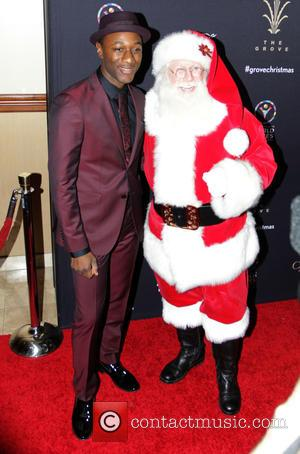 Aloe Blacc - A host of stars attended the Christmas Tree Lighting event at The Grove in Hollywood, Los Angeles,...