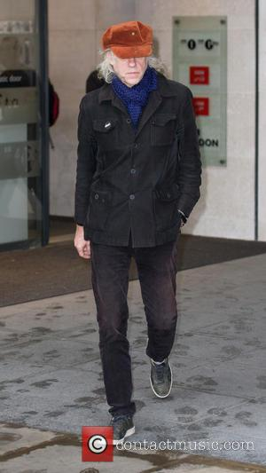 Bob Geldof - Celebrities at the BBC Radio 1 studios at BBC Portland Place - London, United Kingdom - Monday...
