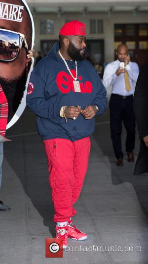 Rick Ross - Celebrities at the BBC Studios at BBC Portland Place - London, United Kingdom - Monday 17th November...