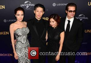 Brad Pitt and Angelina Jolie - Premiere of 'Unbroken' held at the State Theatre - Arrivals at State Theatre -...