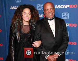 Jadagrace and Berry Gordy